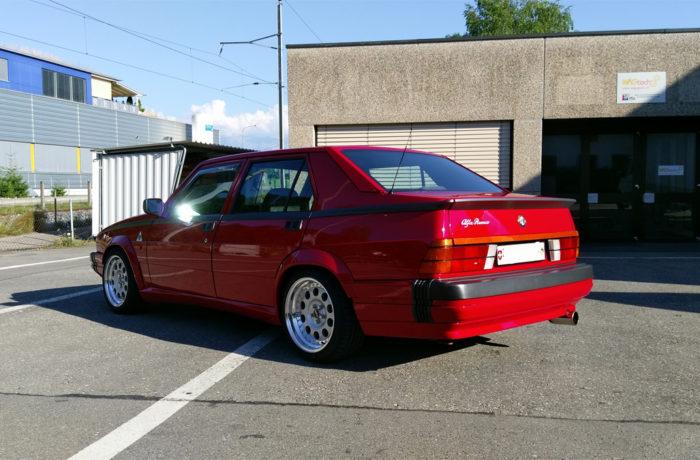 Alfa 75 America Zumac Wheels